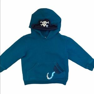 ✨3 for $30✨Gymboree 2T Boys Pirate Hoodie